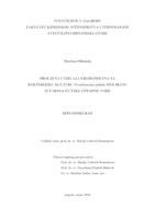 prikaz prve stranice dokumenta Procjena utjecaja eritromicina na bakteriju Pseudomonas putida izoliranu iz farmaceutske otpadne vode