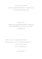Određivanje razgradnih produkata lidokaina spektrometrijom masa visoke razlučivosti