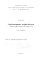 Određivanje razgradnih produkata diazepama spektrometrijom masa visoke razlučivosti
