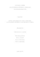 prikaz prve stranice dokumenta Kinetika terpolimerizacije i svojstva terpolimera tert-butilaminoetil-metakrilata, alkil-metakrilata i stirena