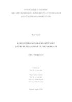 prikaz prve stranice dokumenta Kopolimerizacijska reaktivnost 2-(tert-butilamino)etil metakrilata